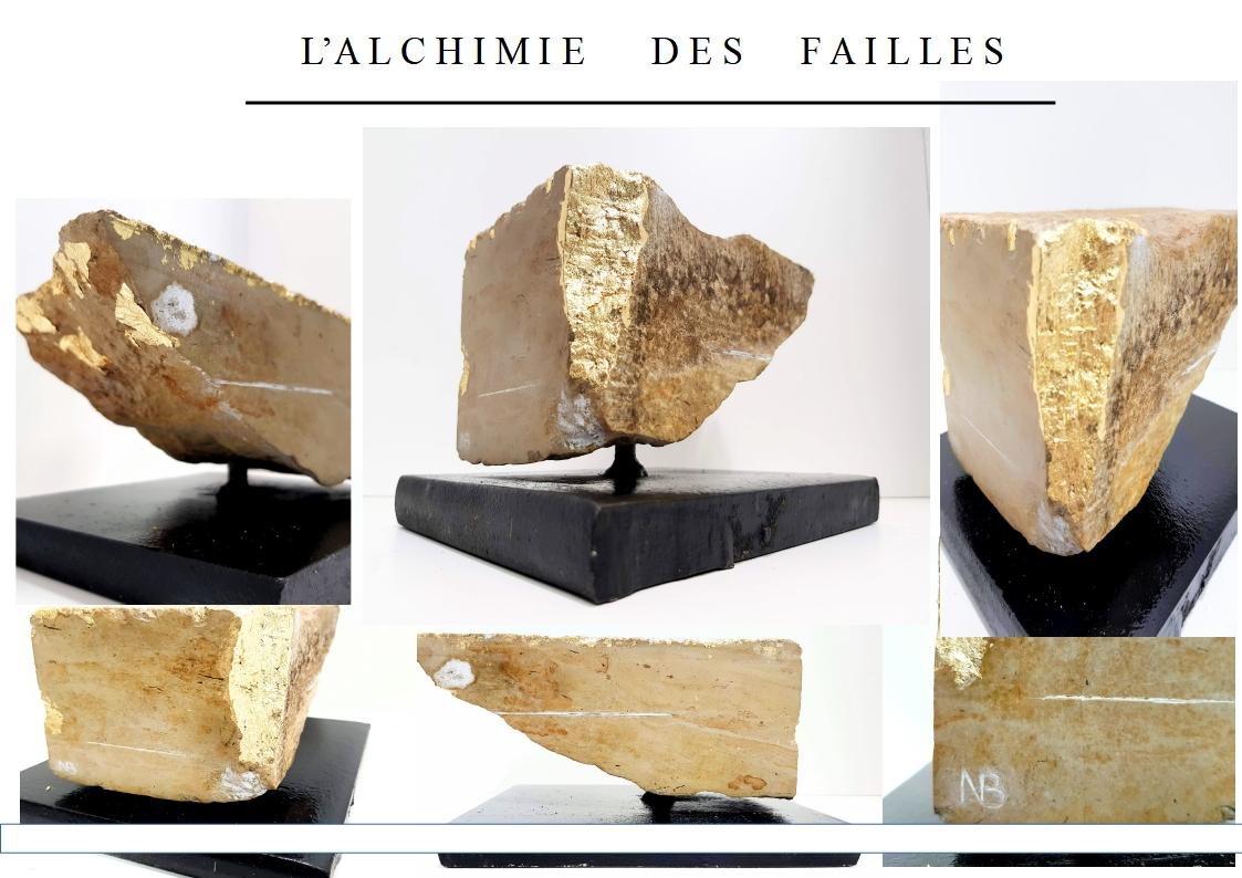 SCULPTURE ALCHIMIE DES FAILLES